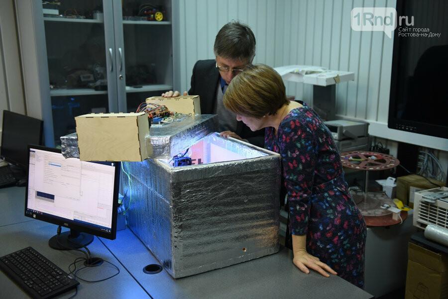 В ДГТУ испытывают установку для подготовки семян к проращиванию , фото-1