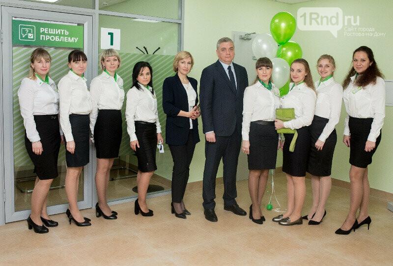 В Таганроге открылся новый переформатированный офис Сбербанка, фото-1