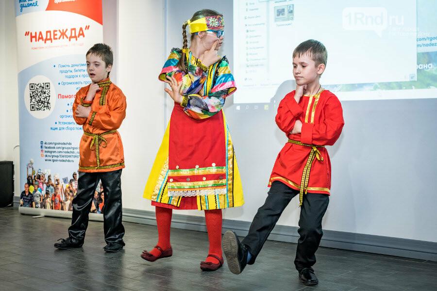 В Ростове прошла благотворительная выставка работ детей с особенностями здоровья, фото-5