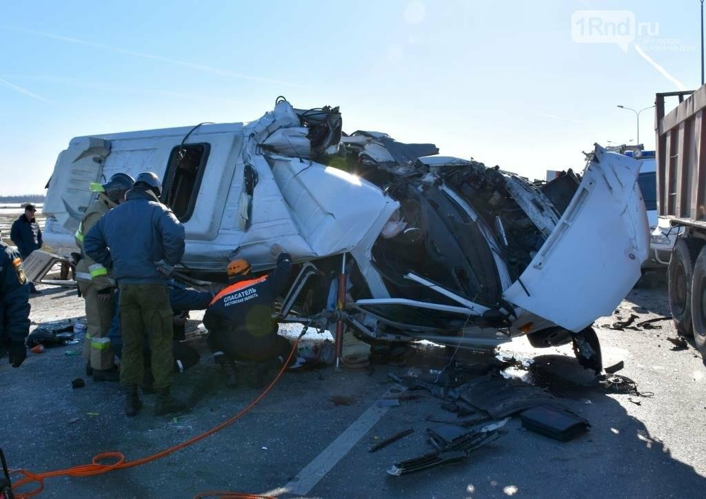Шесть человек погибли в тройном ДТП с маршруткой Ростов - Миллерово  на трассе М-4, фото-8