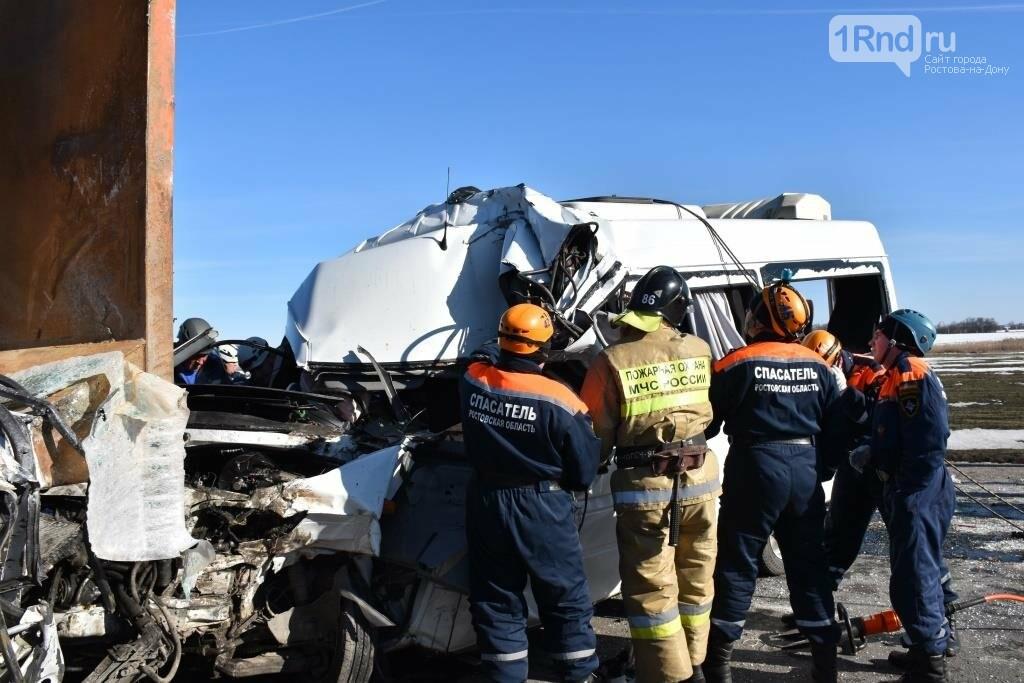 Шесть человек погибли в тройном ДТП с маршруткой Ростов - Миллерово  на трассе М-4, фото-5