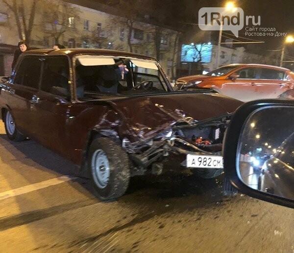 Очевидцы сообщили о ДТП в Ростове на Нагибина, фото-1