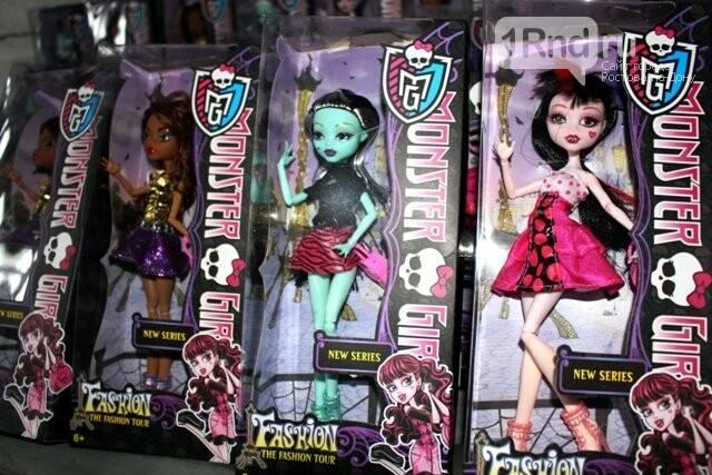 Ростовская таможня не дала добро на завоз 192 кукол «Monster high», фото-1