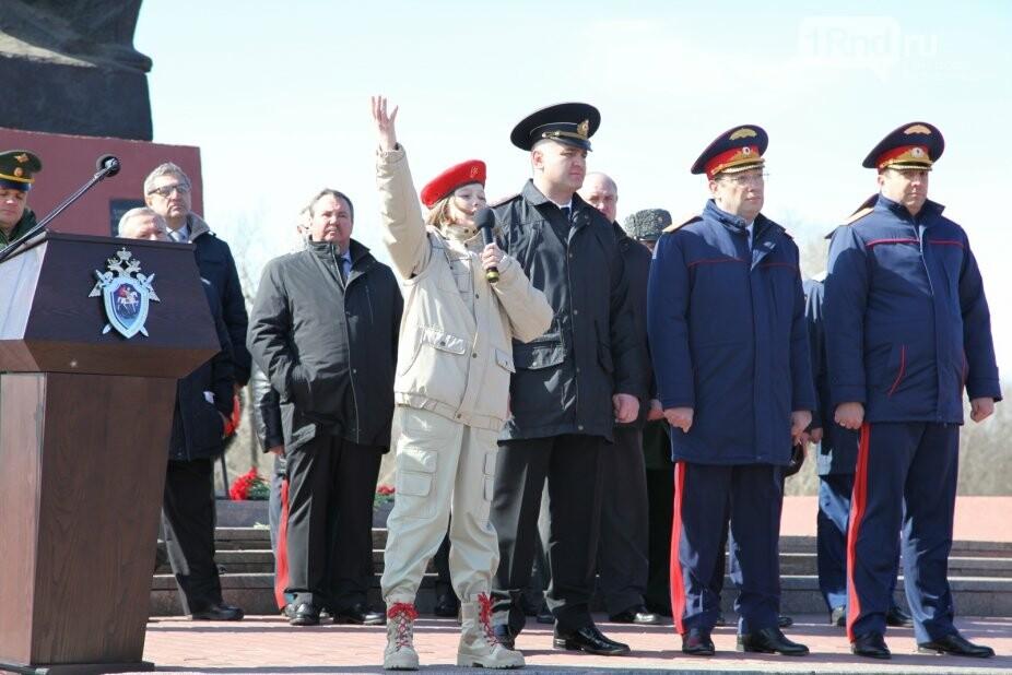 Ростов присоединился к организованной следкомом РФ эстафете «Дорога Памяти», фото-4