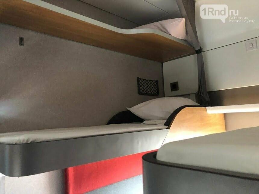 Ростовчане раскупили все билеты в первый плацкартный вагон с новым интерьером , фото-1