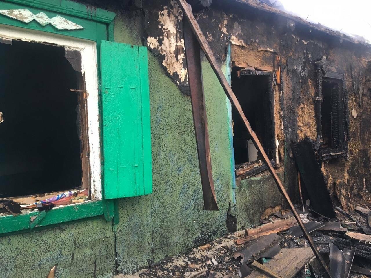 В селе Песчанокопском установили личности погибших на пожаре трех мужчин, фото-1