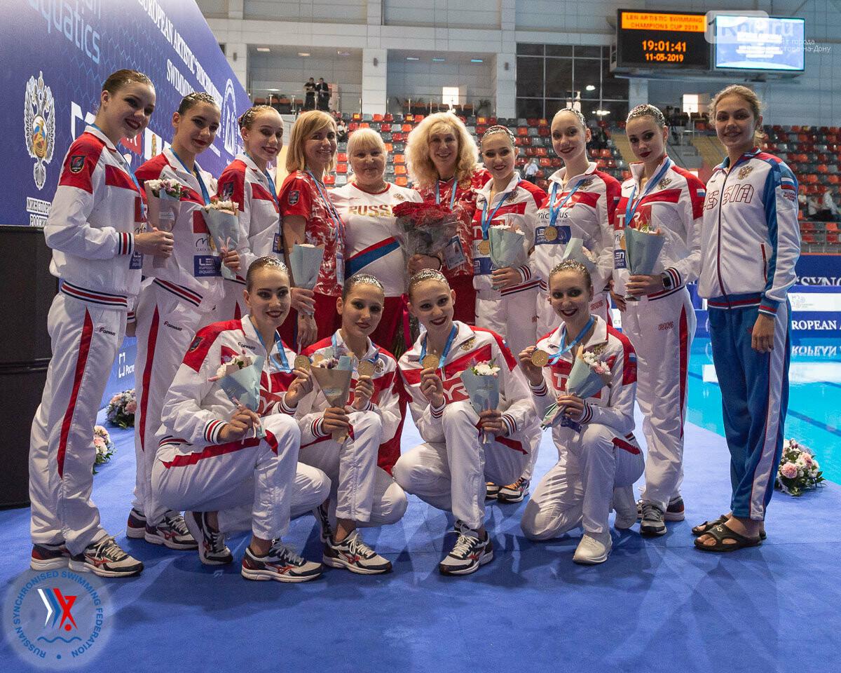 Донская спортсменка в составе сборной России завоевала кубок Европы по синхронному плаванию, фото-1