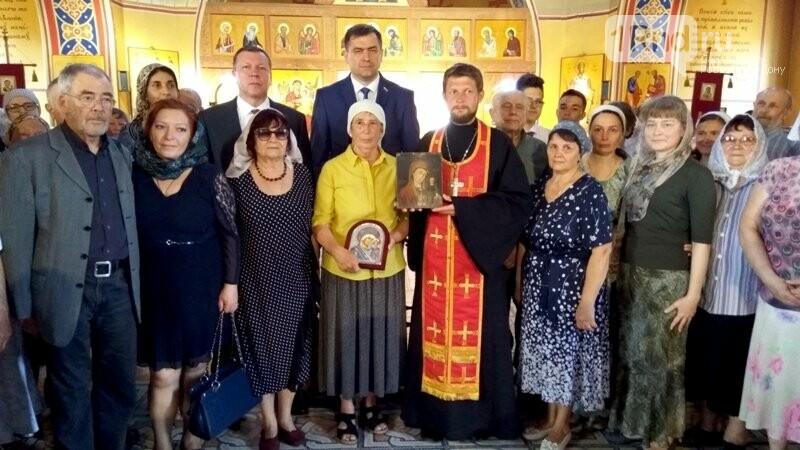 Донскому храму вернули икону, вывезенную в Германию после оккупации , фото-2