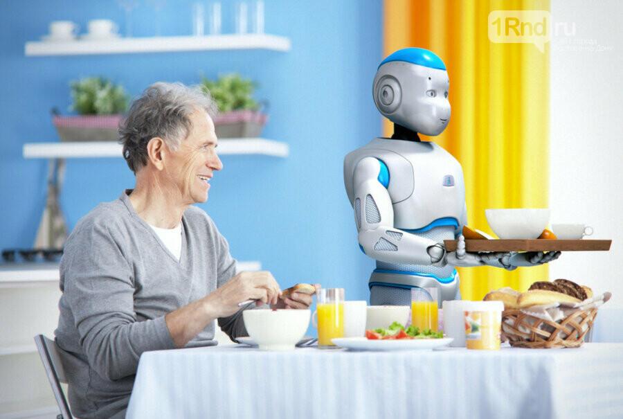 В умном доме работают роботы-помощники, фото-5