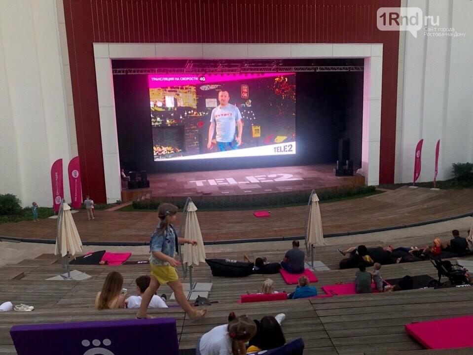 Бесплатный кинотеатр под открытым небом начал работать в Ростове, фото-3