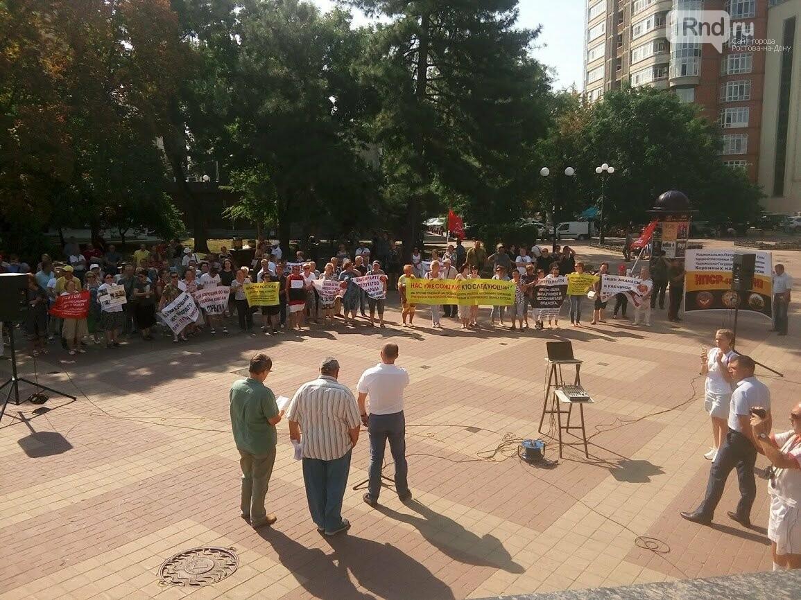 Погорельцы Театрального спуска потребовали расследовать бездействие властей Ростова, фото-3