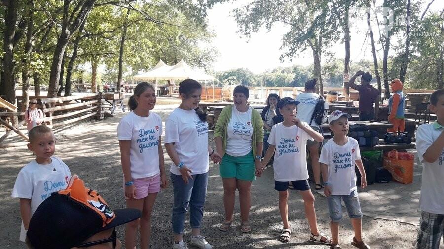 Благотворительный пикник для особенных детей прошел в Парке птиц «Малинки», фото-18