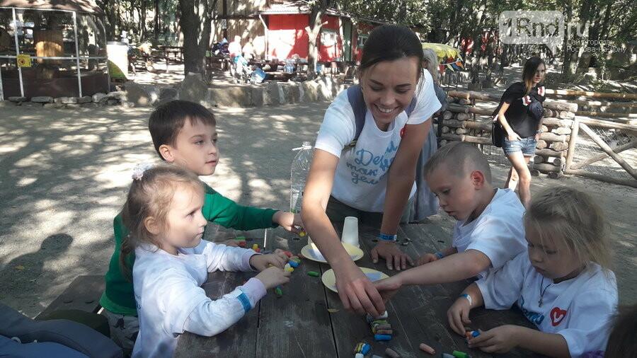 Благотворительный пикник для особенных детей прошел в Парке птиц «Малинки», фото-15