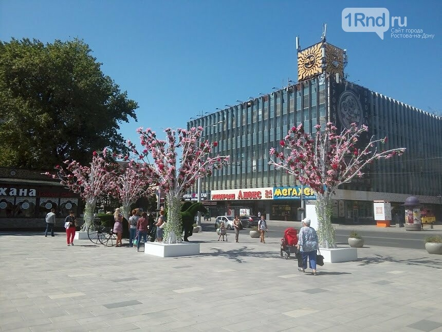 Пластмассовые деревья и конь-газон: как Ростов-на-Дону украсили к юбилею, фото-6