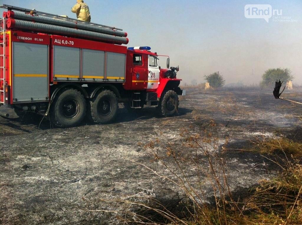 В Волгодонске ликвидировали открытое горение на полигоне ТБО, фото-1