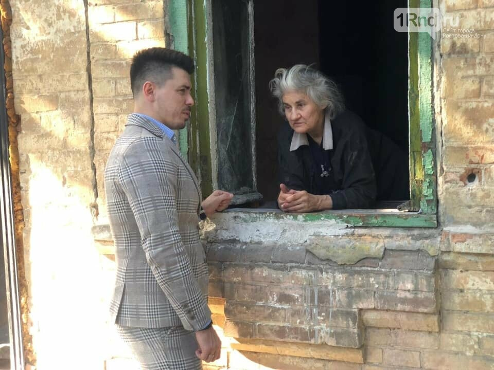 Власти пообещали помочь слепой ростовчанке, живущей в разрушенном доме, фото-1