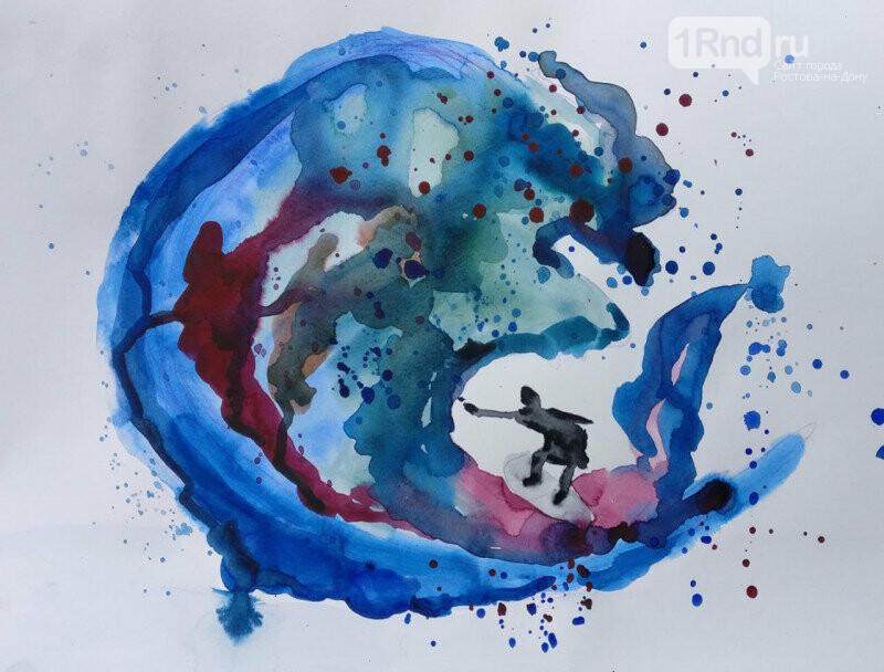 «Мир в красках»: началось онлайн-голосование за лучшие работы юных художников, фото-1