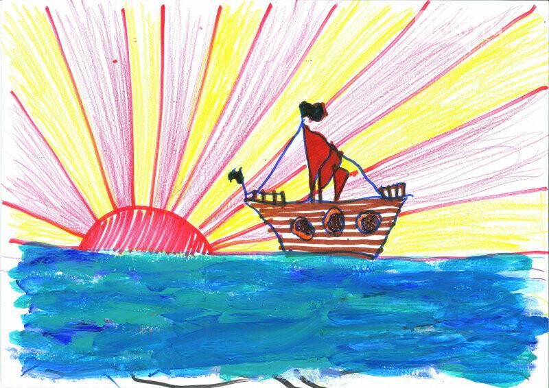 «Мир в красках»: началось онлайн-голосование за лучшие работы юных художников, фото-3