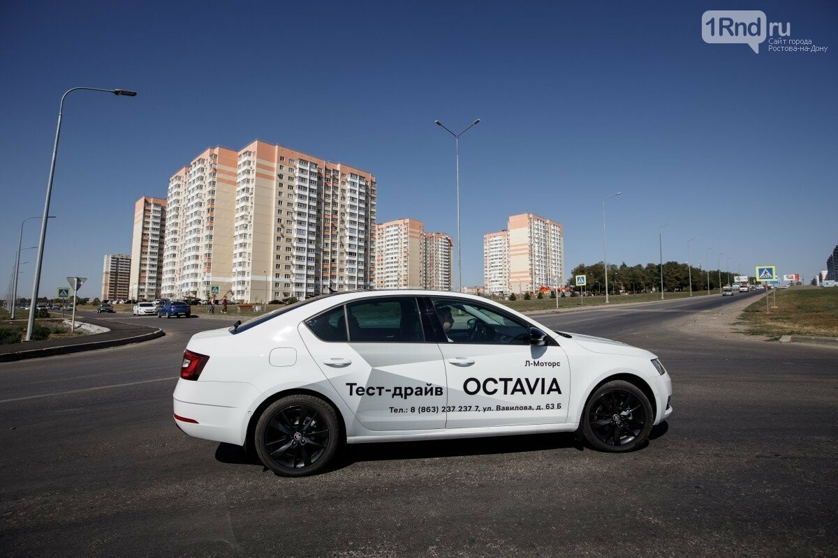 Новая ŠKODA OCTAVIA: тест-драйв по беспощадным дорогам Суворовского, фото-9