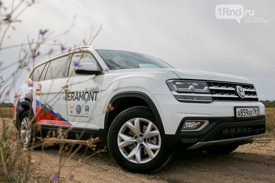 Volkswagen Teramont: в поисках настоящего бездорожья , фото-3