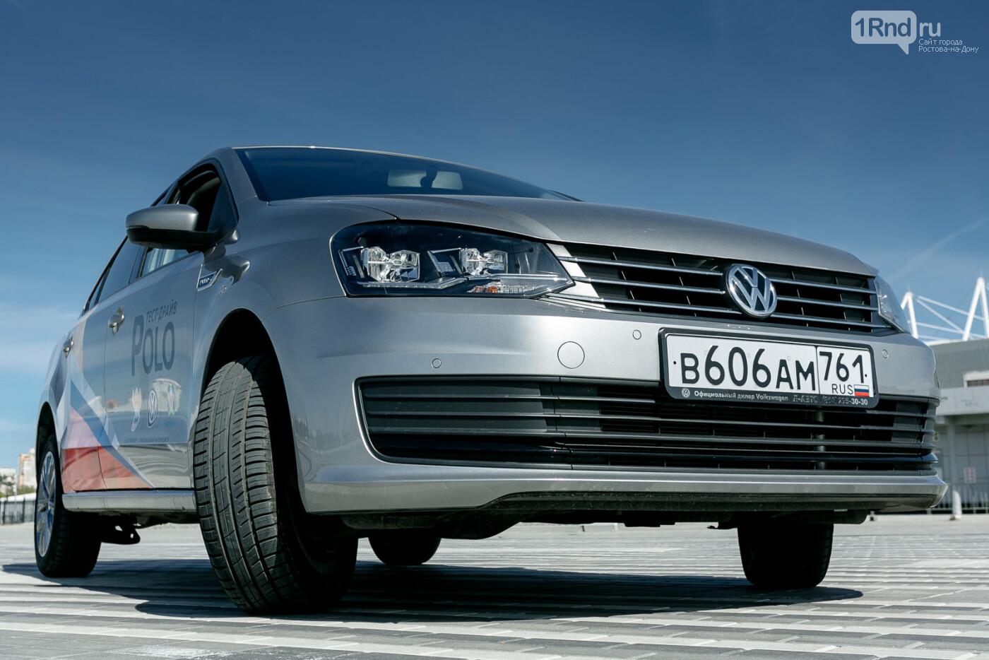 Тест-драйв Volkswagen Polo: узнай, причем здесь футбол, фото-17