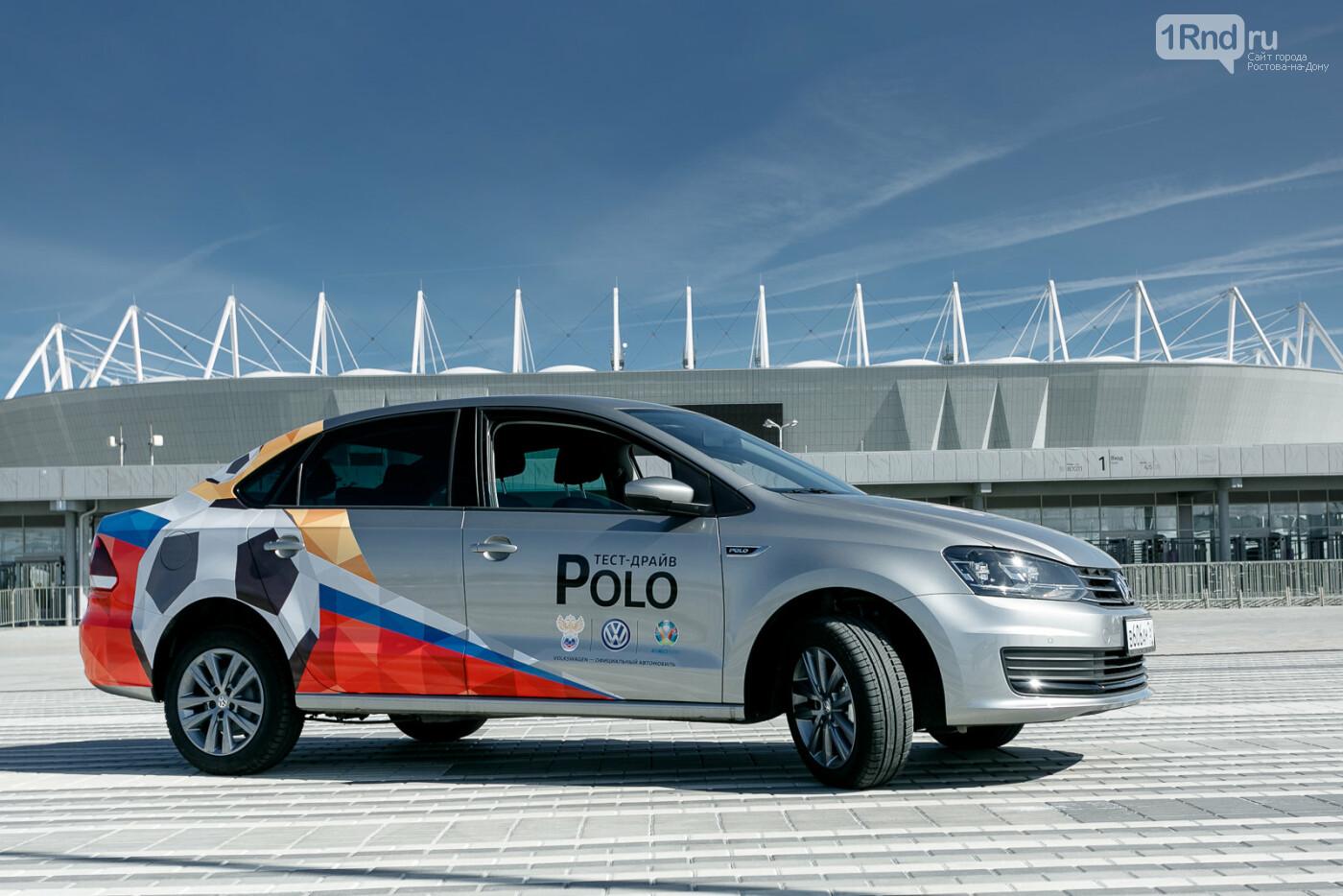 Тест-драйв Volkswagen Polo: узнай, причем здесь футбол, фото-21
