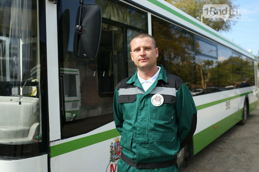 В Ростове определили самого культурного и грамотного водителя автобуса, фото-1