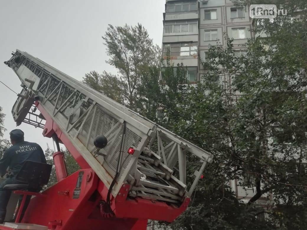 Один человек погиб при пожаре в многоэтажке на ЗЖМ Ростова, фото-1