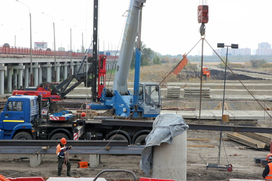 В Ростове-на-Дону начали строить новый пойменный мост, фото-2