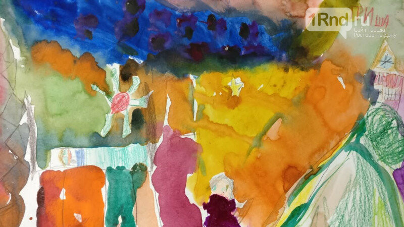 В Ростове прошла выставка работ особенных детей «Мир в красках» , фото-11