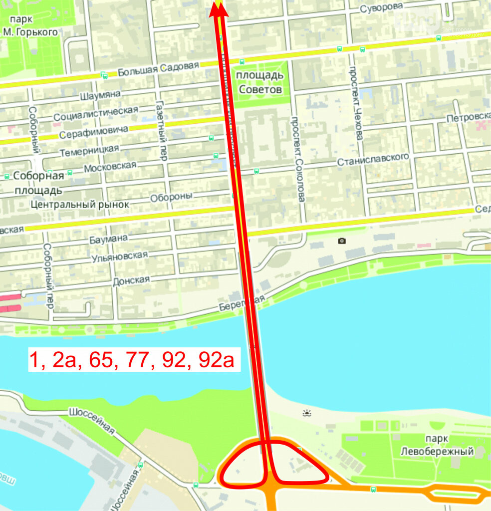 В Ростове из-за визита патриарха Кирилла и автобусов с паломниками изменится схема движения транспорта, фото-1