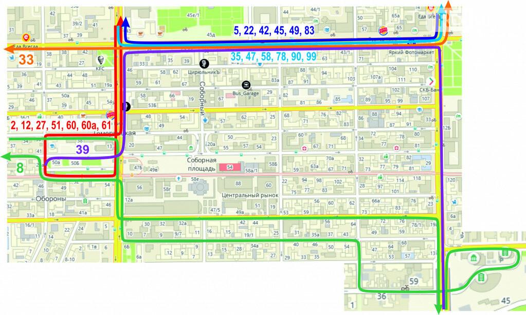 В Ростове из-за визита патриарха Кирилла и автобусов с паломниками изменится схема движения транспорта, фото-2
