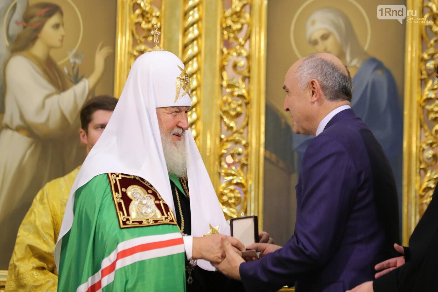 Али Узденова удостоили Патриаршего знака храмостроителя , фото-1