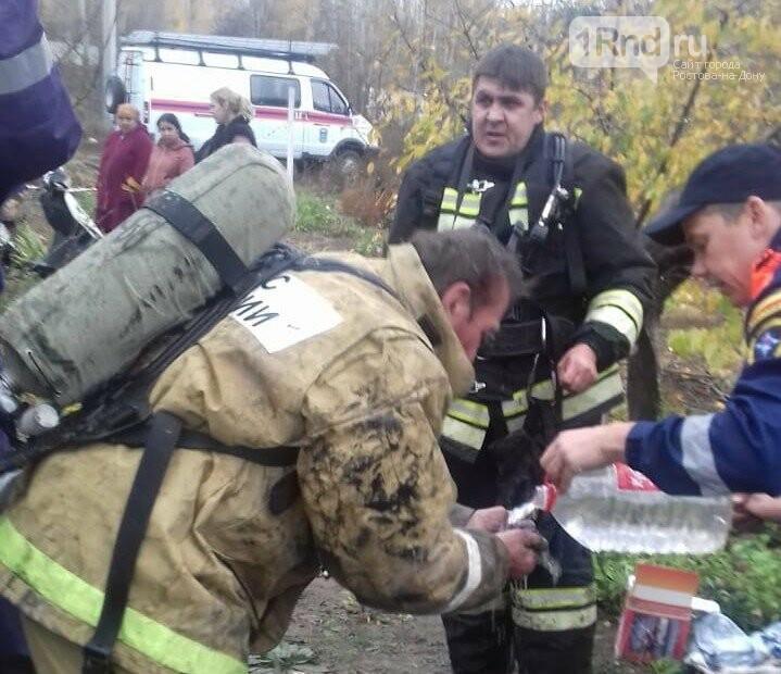 Двое рабочих погибли при очистке коллектора в Ростовской области, фото-1