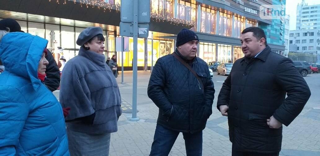 Как чиновники Ростова искали место под ёлку на площади Космонавтов, фото-5