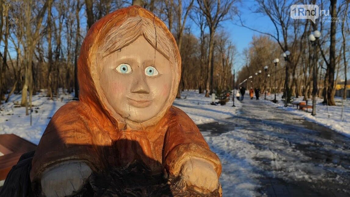 Ростовский парк Вересаева украсили очень странными фигурами, фото-14