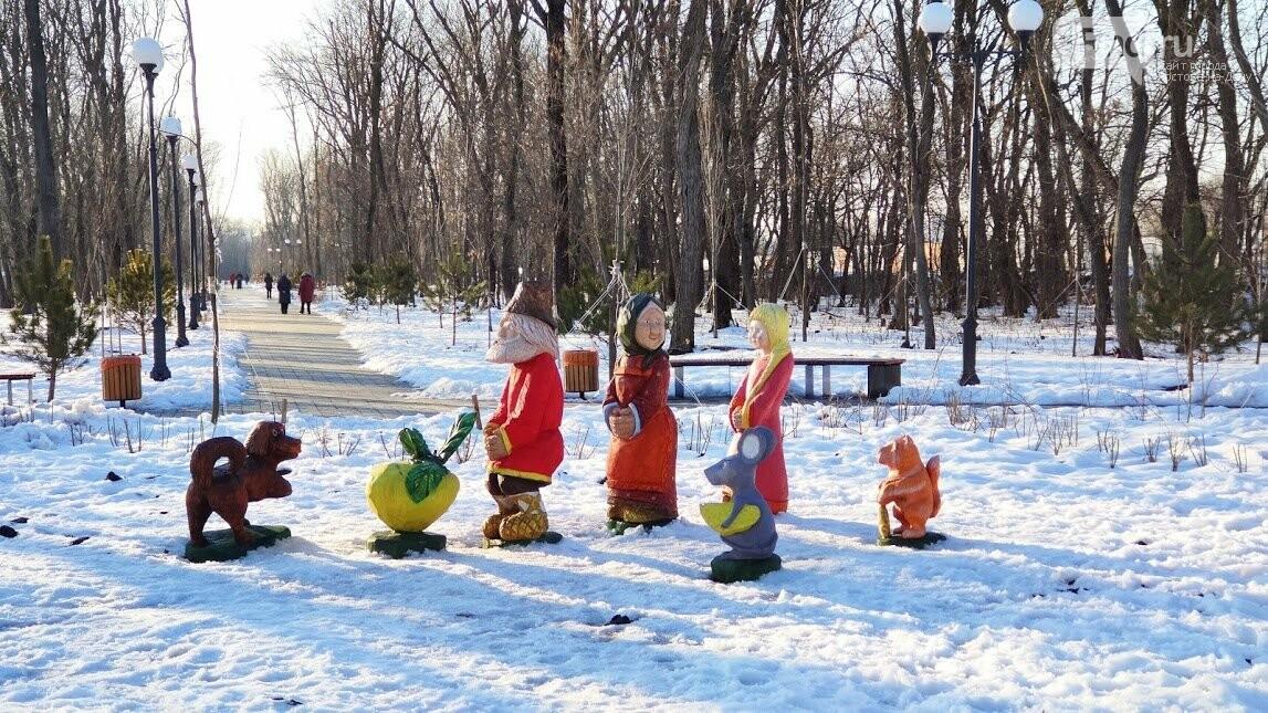 Ростовский парк Вересаева украсили очень странными фигурами, фото-5