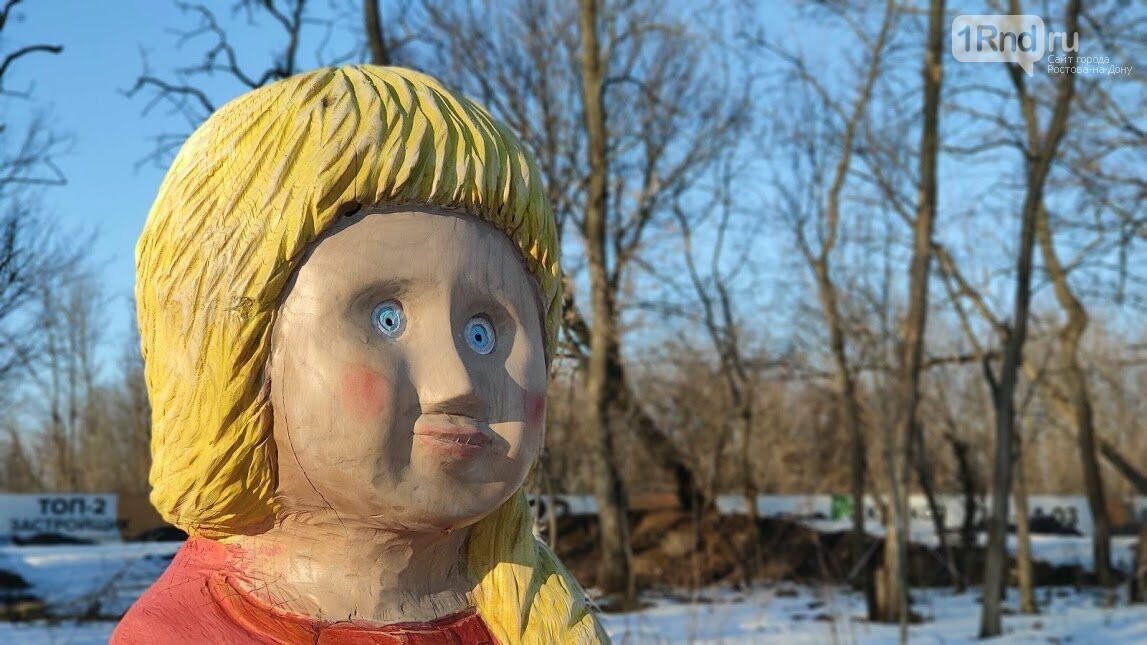 Ростовский парк Вересаева украсили очень странными фигурами, фото-9