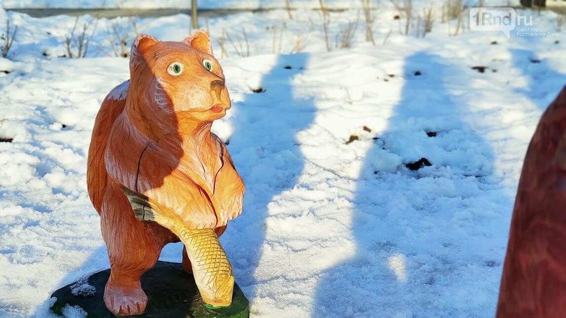 Ростовский парк Вересаева украсили очень странными фигурами, фото-11
