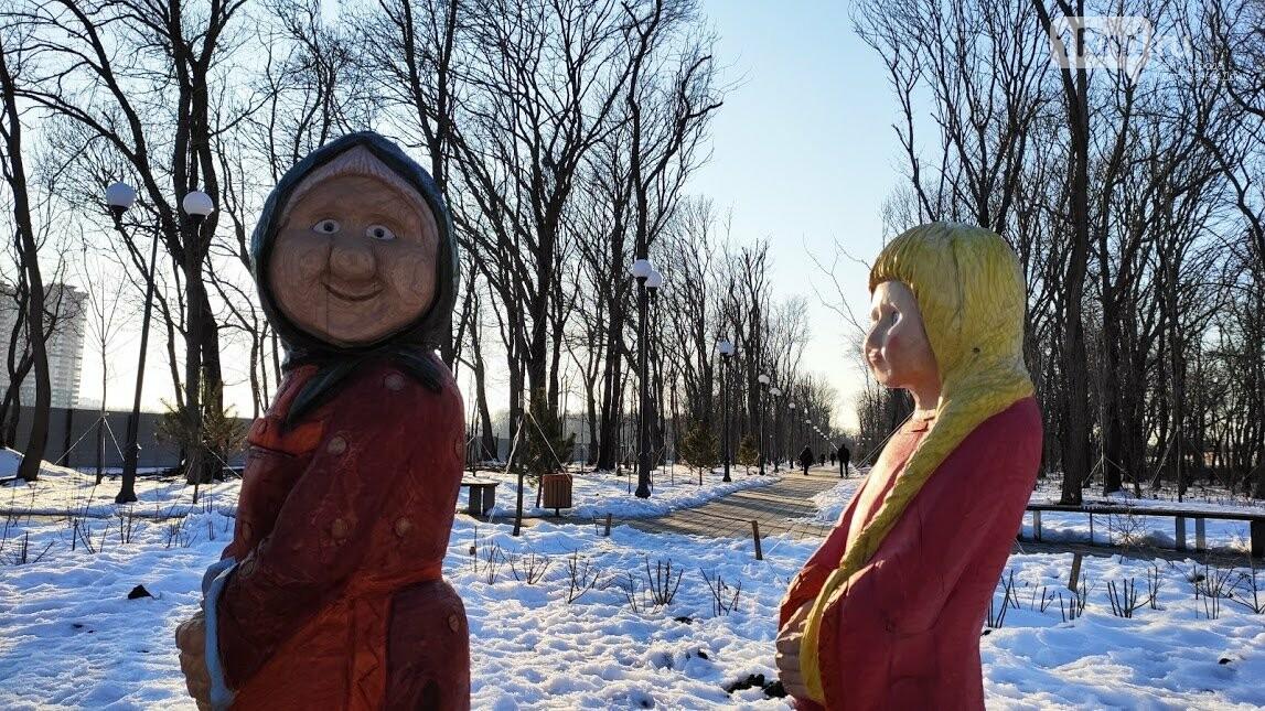 Ростовский парк Вересаева украсили очень странными фигурами, фото-8