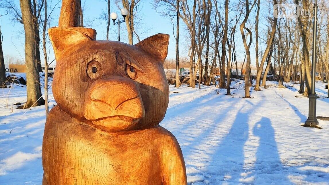 Ростовский парк Вересаева украсили очень странными фигурами, фото-2