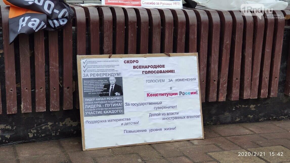 Власти запретили пикет против изменения Конституции в центре Ростова из-за несуществующей акции, фото-5