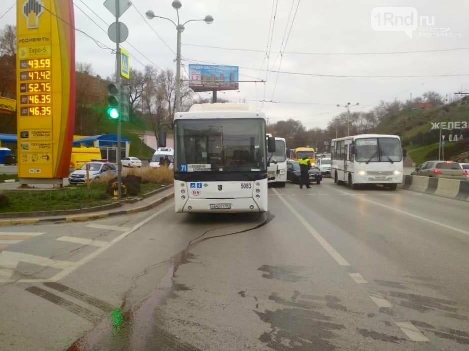 В Ростове маршрутка врезалась в автобус, пострадали 13 человек, фото-2