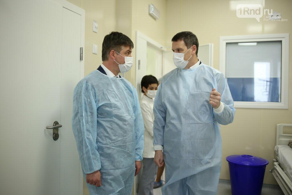 Сити-менеджер Ростова посетил больницу, где лечат пациентку с коронавирусом, фото-3
