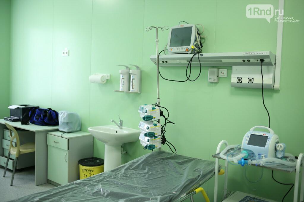 Сити-менеджер Ростова посетил больницу, где лечат пациентку с коронавирусом, фото-2