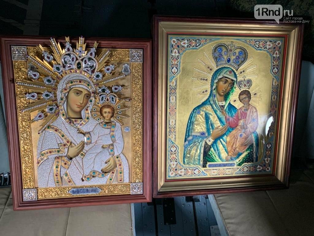 В небе над Ростовом совершили крестный ход против коронавируса, фото-1