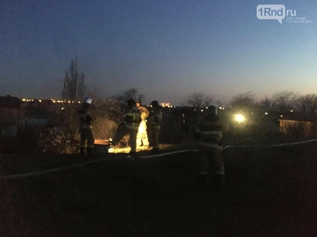 Резервуар с керосином загорелся в Октябрьском районе Ростова, фото-3