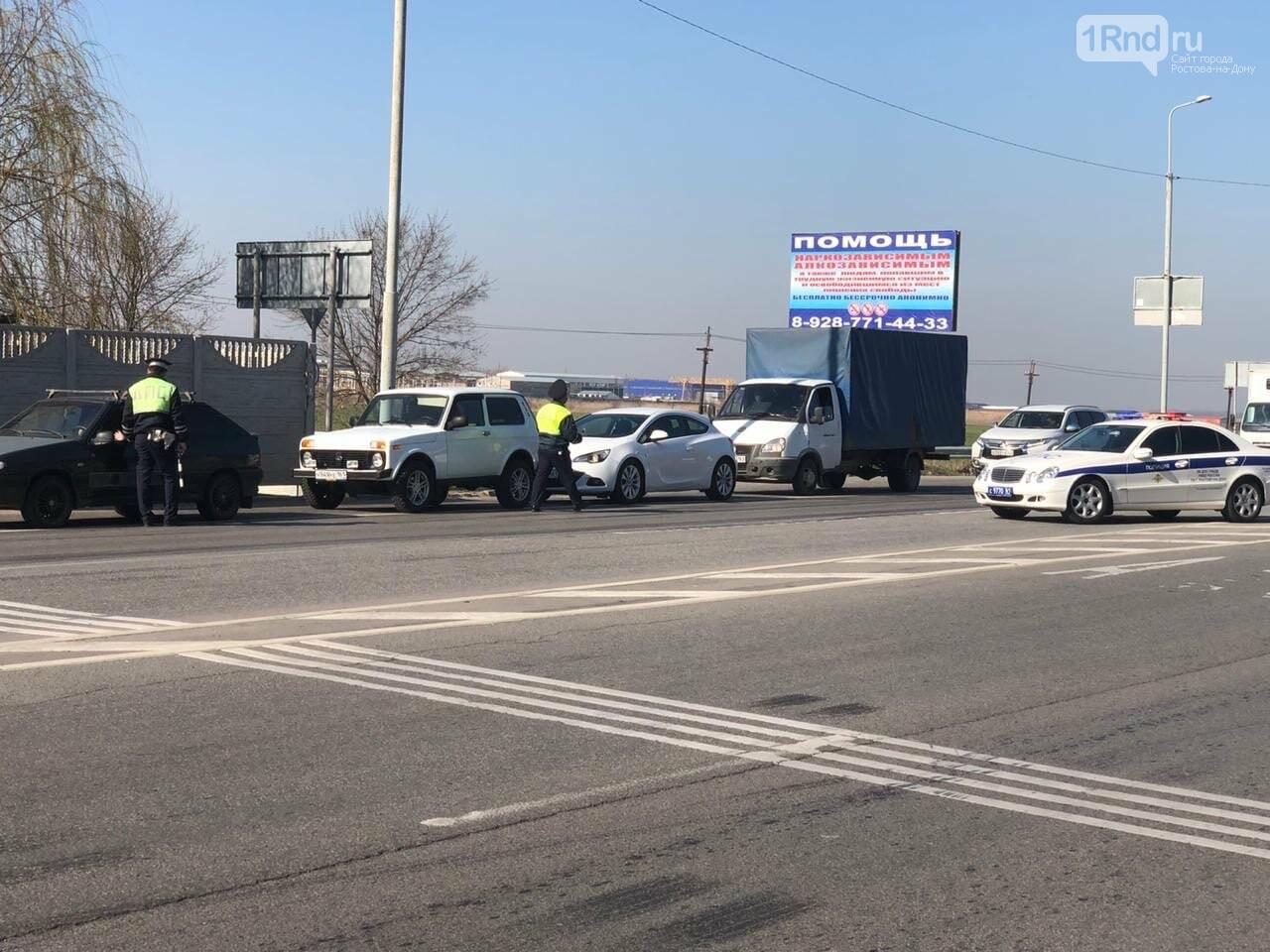 На въездах в Ростов ловят нарушителей режима самоизоляции, фото-2