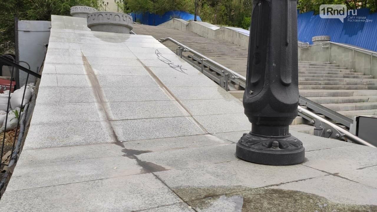 В Ростове начала разрушаться Казанская лестница, фото-6