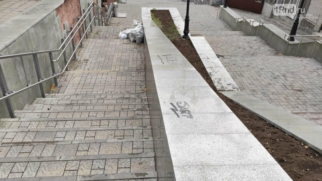 В Ростове начала разрушаться Казанская лестница, фото-7